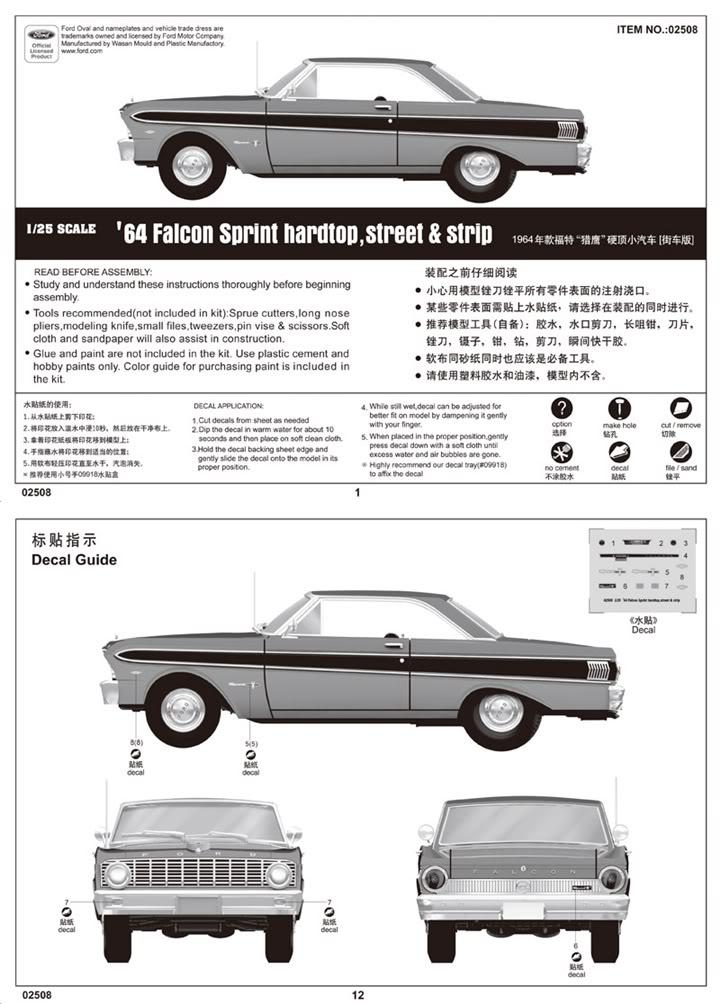 Nouveautés TRUMPETER - Page 2 FordFalconSprintHartopitem02508001
