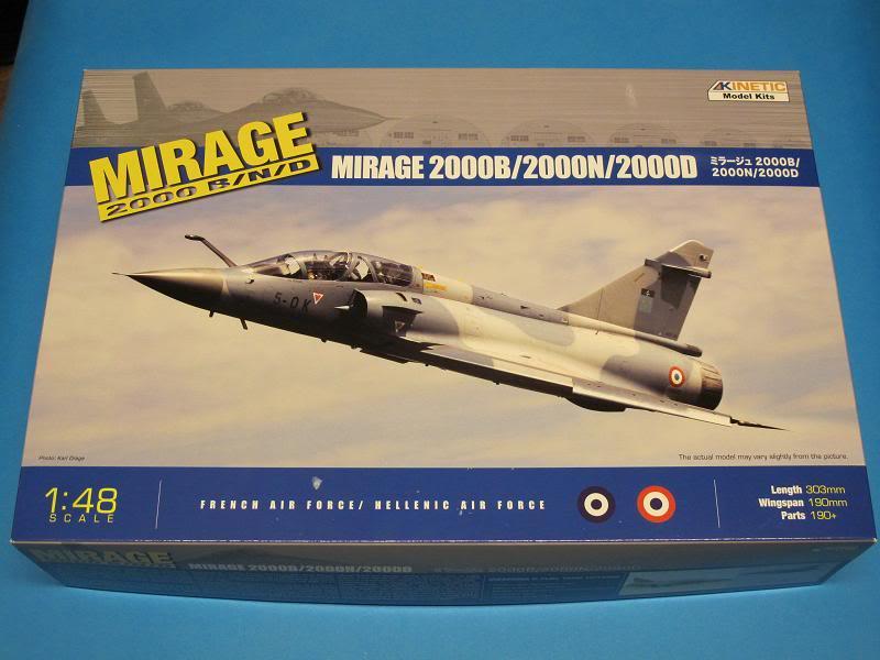 [Revue de kit] - Kinetic - Mirage 2000 B/D/N faite  par OST  Textes et photos KIN-K48032_Mirage2000BDN_Boite-01