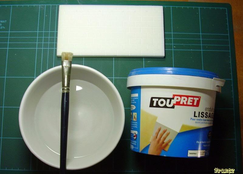 Fabriquer un Mur en Parpaing en Carton Plume M01
