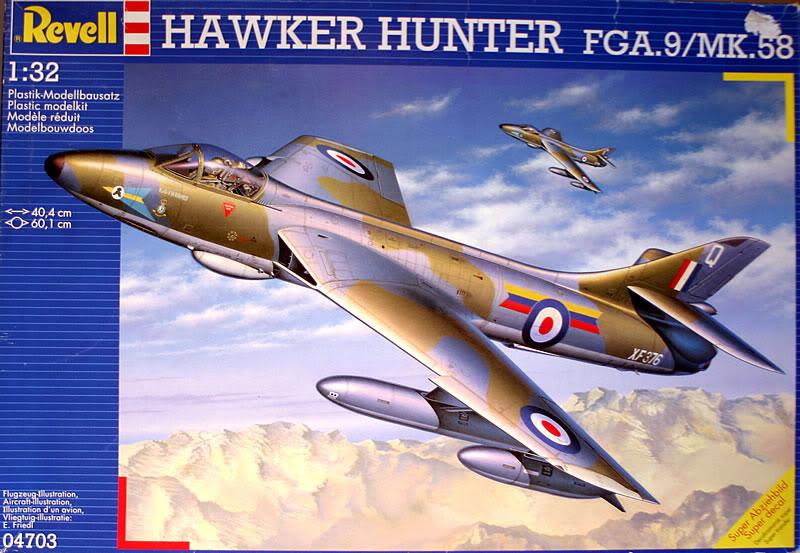 Montage Hawker-Hunter FGA.9 - Revell  1/32 - Mise à jour Du 14/03/2012 602-1