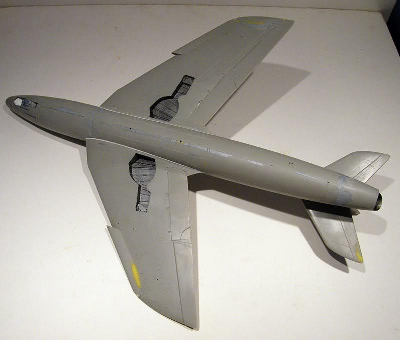 Montage Hawker-Hunter FGA.9 - Revell 1/32 MontageDuHawker-HunterFGA-9-Revell1-320082