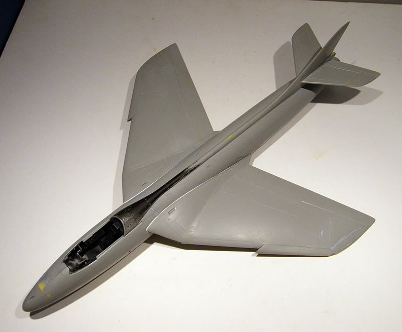Montage Hawker-Hunter FGA.9 - Revell 1/32 MontageDuHawker-HunterFGA-9-Revell1-320097