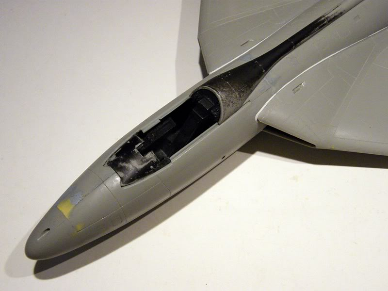 Montage Hawker-Hunter FGA.9 - Revell 1/32 MontageDuHawker-HunterFGA-9-Revell1-320098