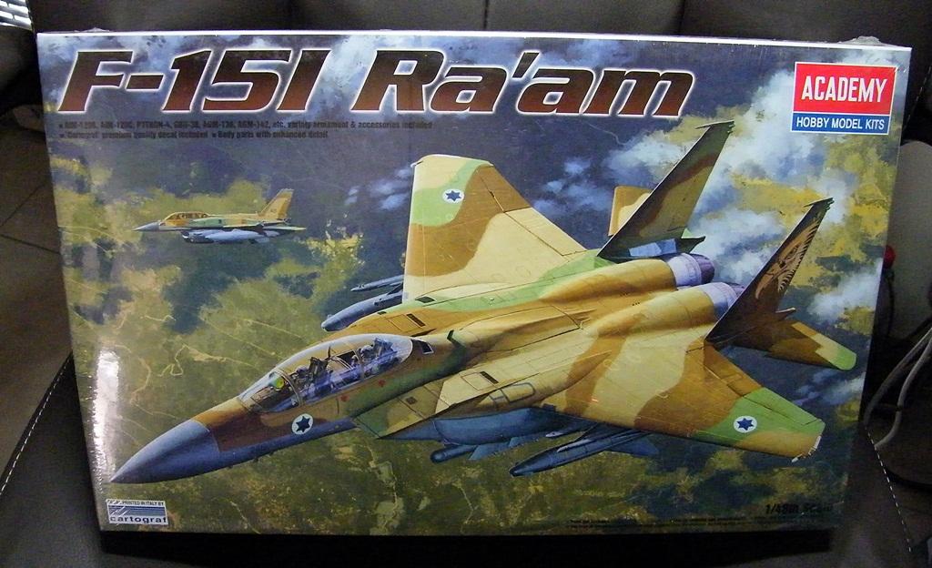 Montage - Frantz  F-15i ra'am Academy - Échelle 1/48  DSCF3122