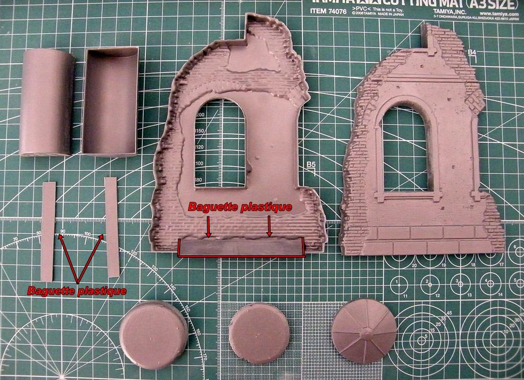 Montage d'une maison en ruine Miniart  DSCF3347