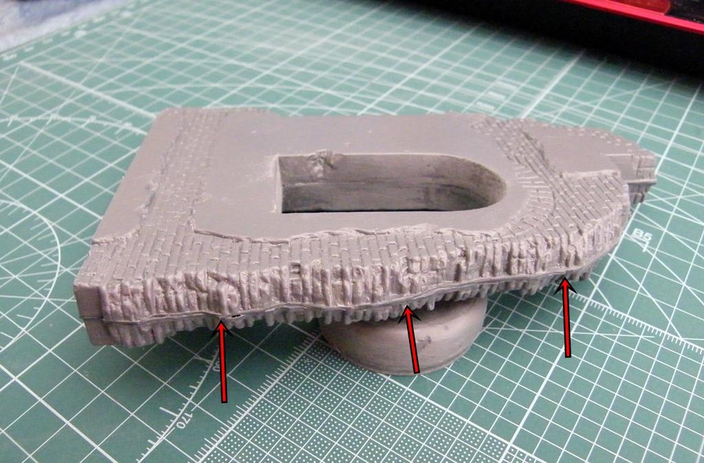 Montage d'une maison en ruine Miniart  DSCF3435