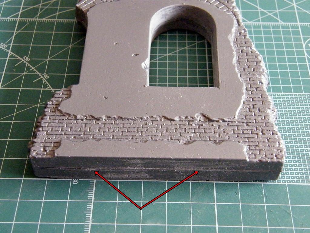Montage d'une maison en ruine Miniart  DSCF3461