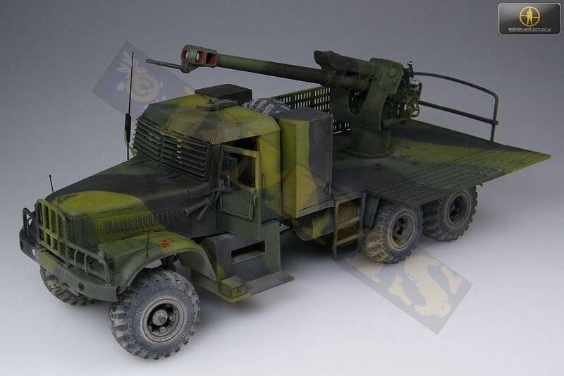 KRAZ-255B TMM-3 bridgelayer chez Miniman Factory  35021_01