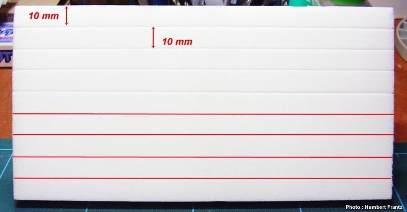 Fabriquer un Mur en Parpaing en Carton Plume P1030014