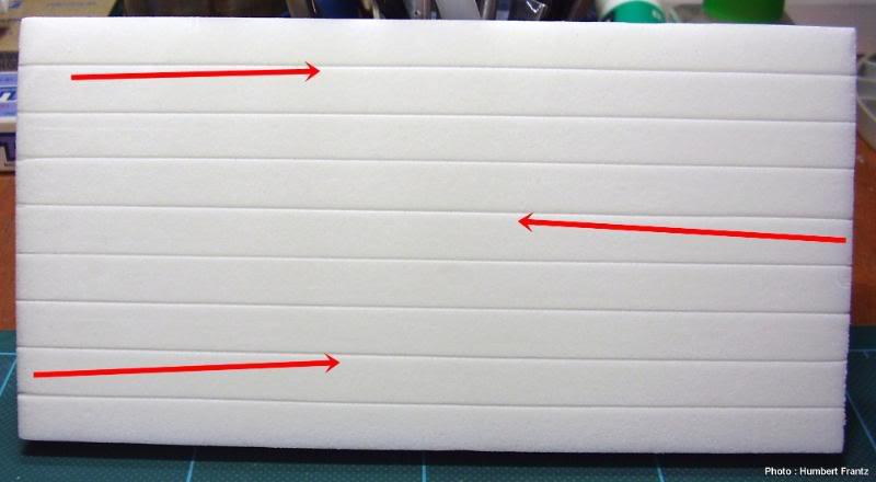 Fabriquer un Mur en Parpaing en Carton Plume P1030020