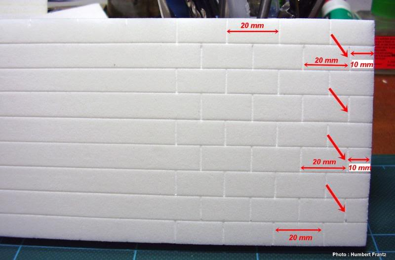 Fabriquer un Mur en Parpaing en Carton Plume P1030028-1