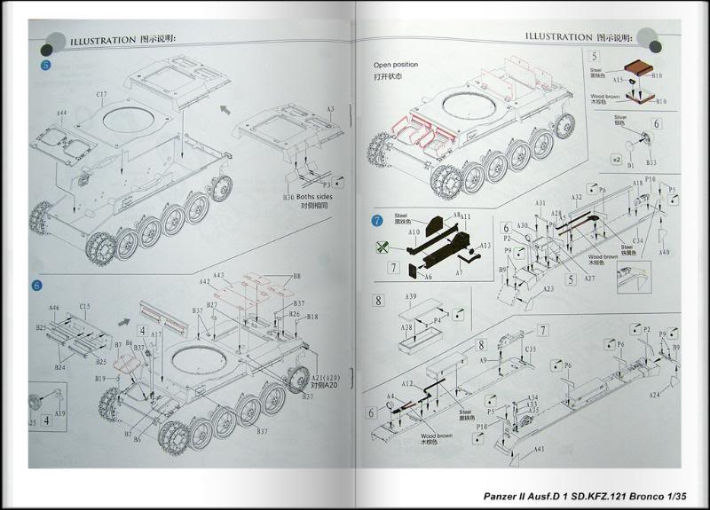 Panzer II Ausf.D 1 (SD.KFZ.121) Bronco Ref CB 35061 Ech 1/35 PanzerIIAusfD1SDKFZ121Bronco006