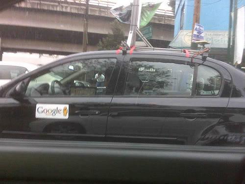 Google Street View pronto en Mexico Cargoogle