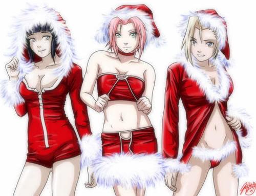 ~Feliz Navidad~ Galeria de Imagenes Navideñas~ Chicas_naruto