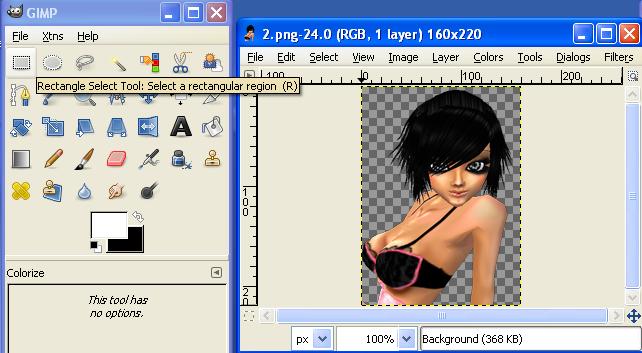 GIMP Tutorial Archive Grad01