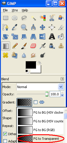 GIMP Tutorial Archive Grad03