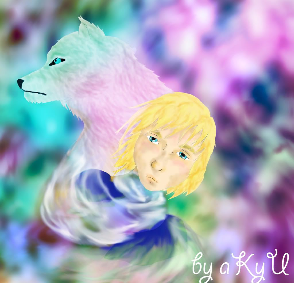 aKyU's Magical Gallery Thewolf