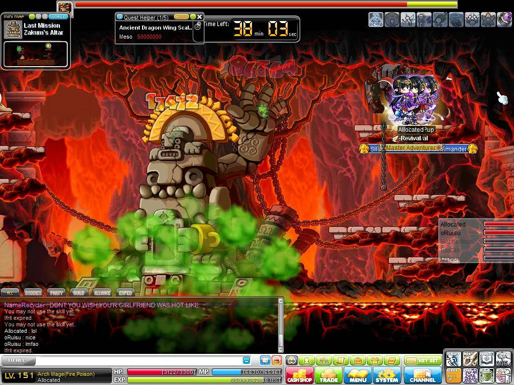 Intense Boss Battles Maple0088