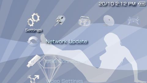 XMB|Ice Blue|PTF|3.71 M33 IceBLue