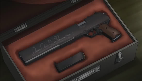 Armas de Hellsing Jackal