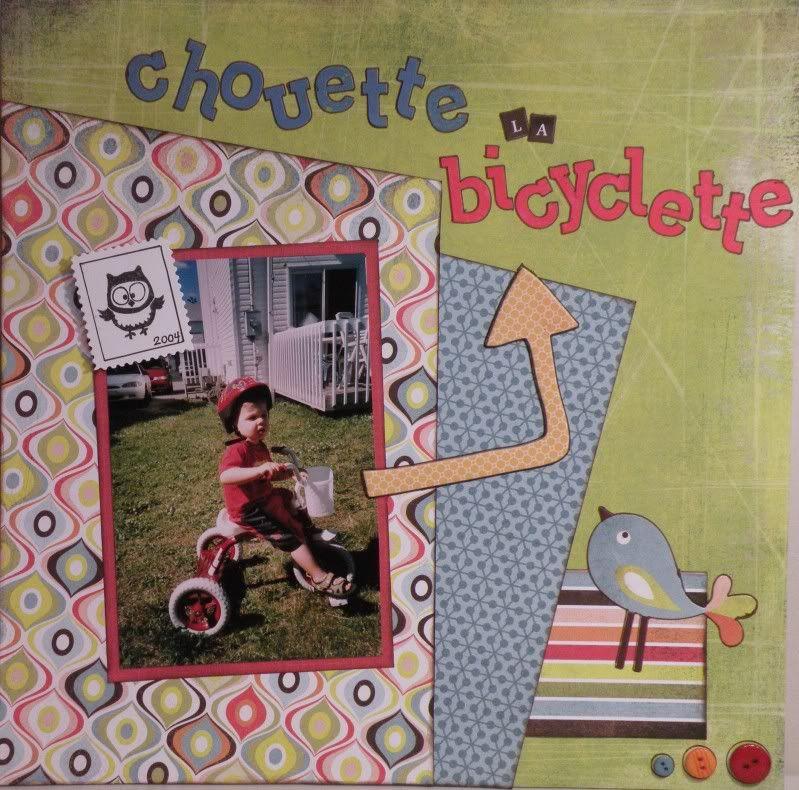 Glamotte - Galerie de juin - ajout de pages le 28 juin Bicyclette