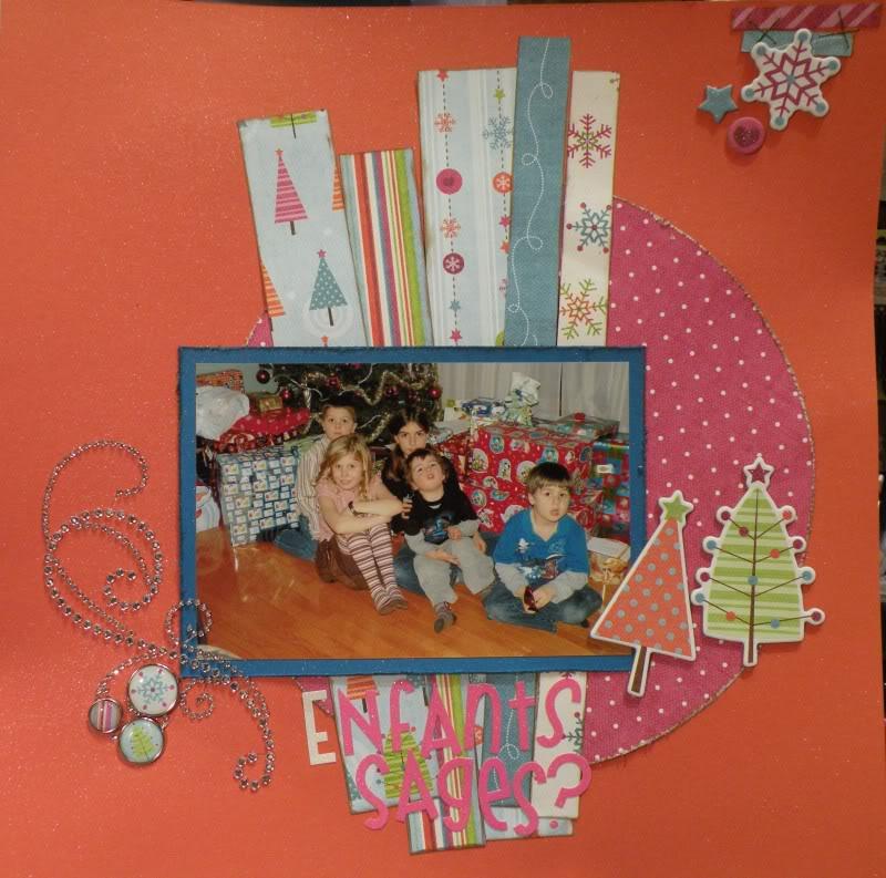Thème de Noël Enfants_sages