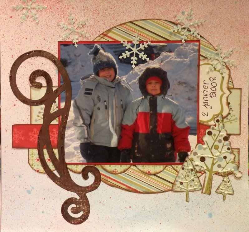 Janvier- Ah comme la neige a neigé! Janvier2011
