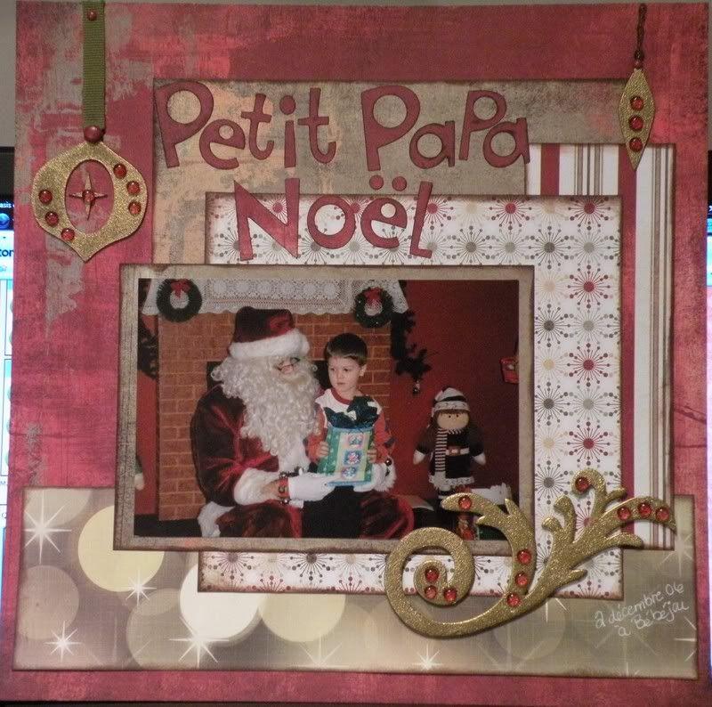 Thème de Noël Petitpapanoel