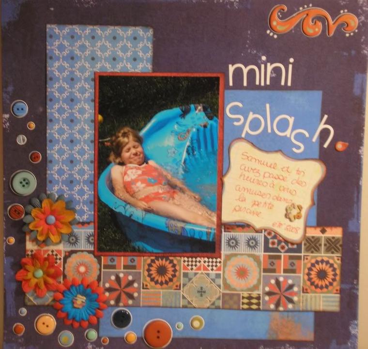 Glamotte - Galerie de juin - ajout de pages le 28 juin Splash