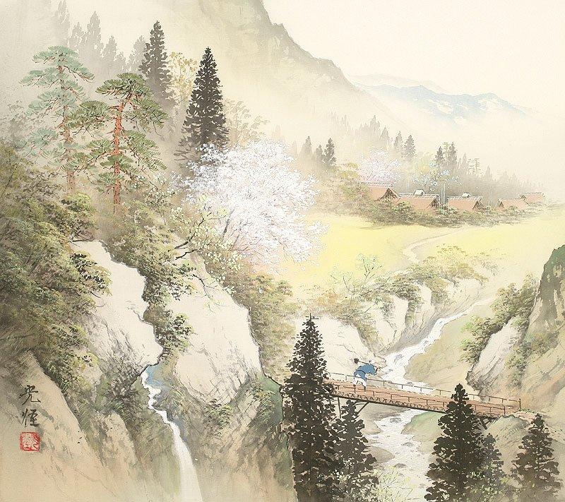 Hoạ sĩ Koukei Kojima - Thôn bản bốn mùa thanh bình DMC_014