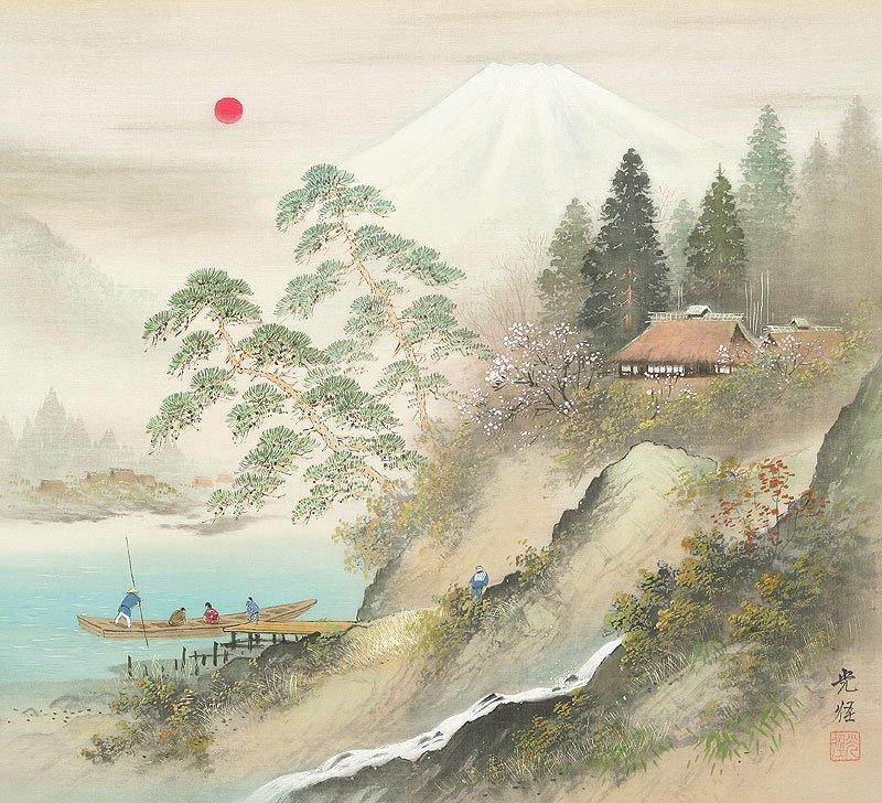 Hoạ sĩ Koukei Kojima - Thôn bản bốn mùa thanh bình DMC_017