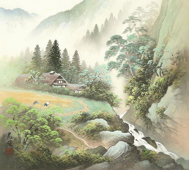 Hoạ sĩ Koukei Kojima - Thôn bản bốn mùa thanh bình DMC_031