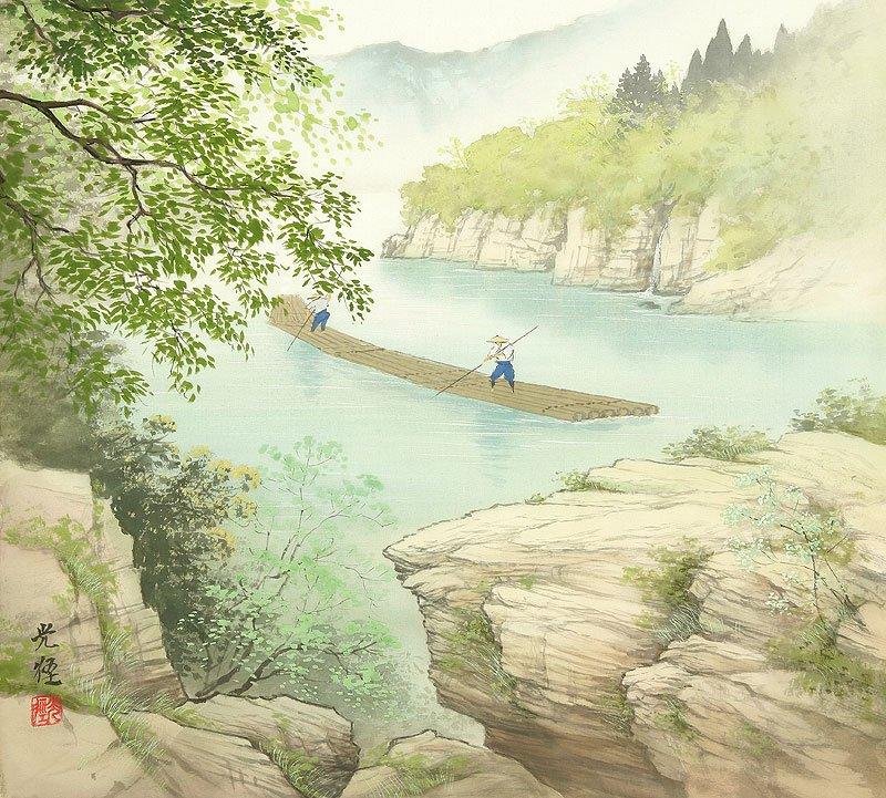 Hoạ sĩ Koukei Kojima - Thôn bản bốn mùa thanh bình DMC_033