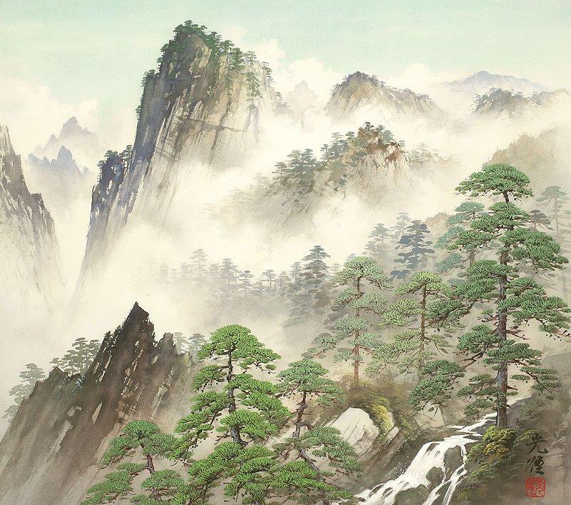 Hoạ sĩ Koukei Kojima - Thôn bản bốn mùa thanh bình DMC_039