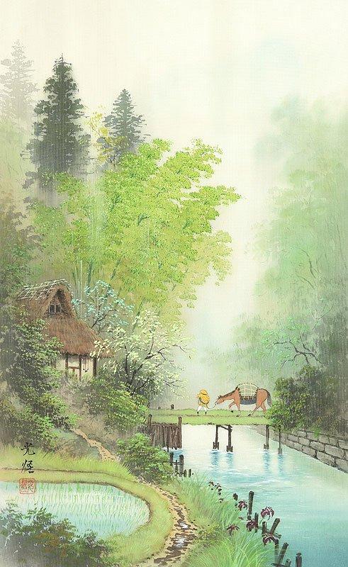Hoạ sĩ Koukei Kojima - Thôn bản bốn mùa thanh bình DMC_045