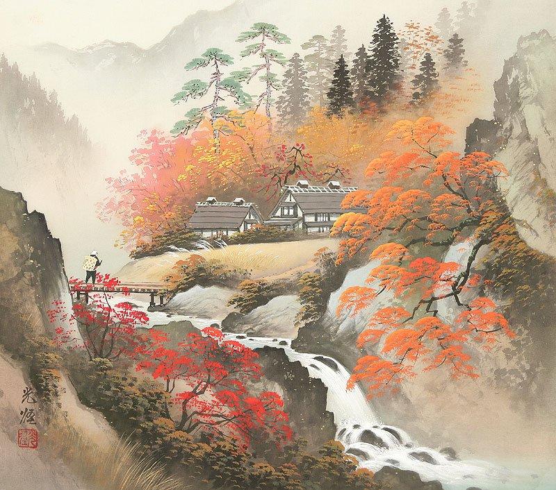 Hoạ sĩ Koukei Kojima - Thôn bản bốn mùa thanh bình DMC_046