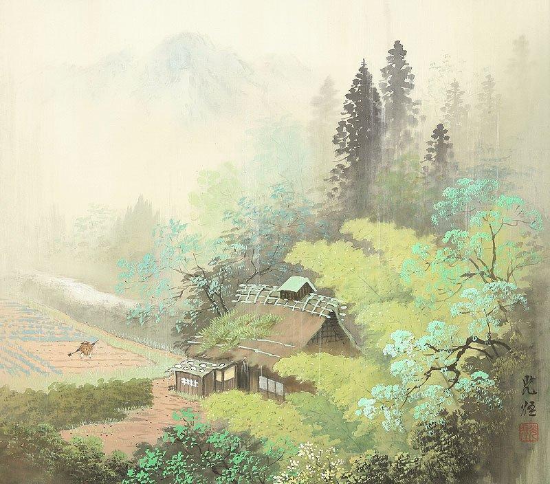 Hoạ sĩ Koukei Kojima - Thôn bản bốn mùa thanh bình DMC_05-1