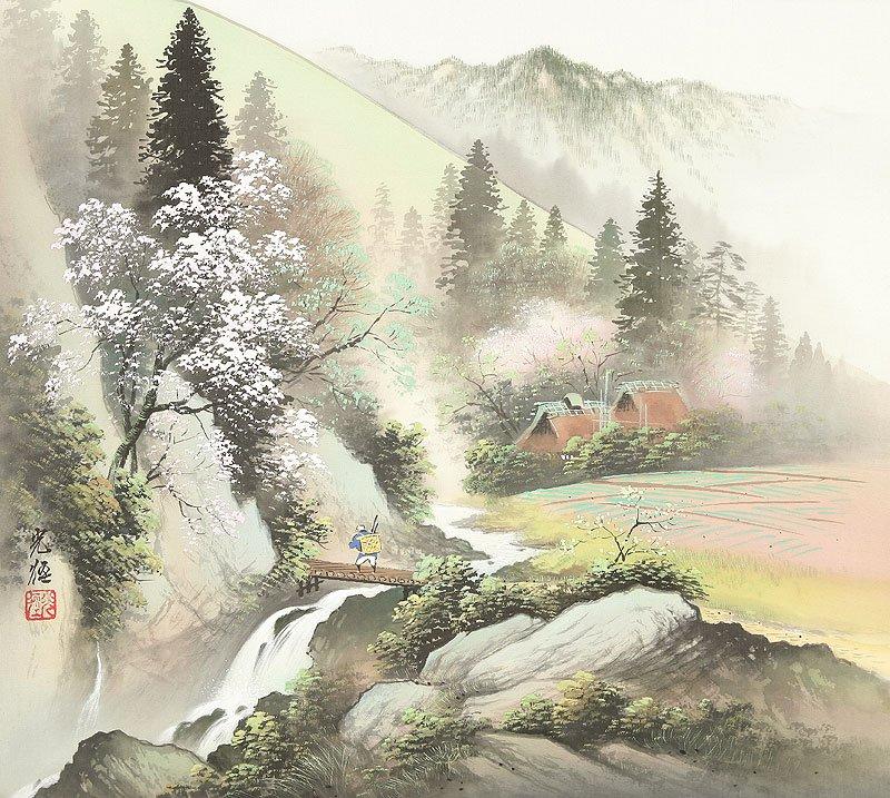 Hoạ sĩ Koukei Kojima - Thôn bản bốn mùa thanh bình DMC_07-1