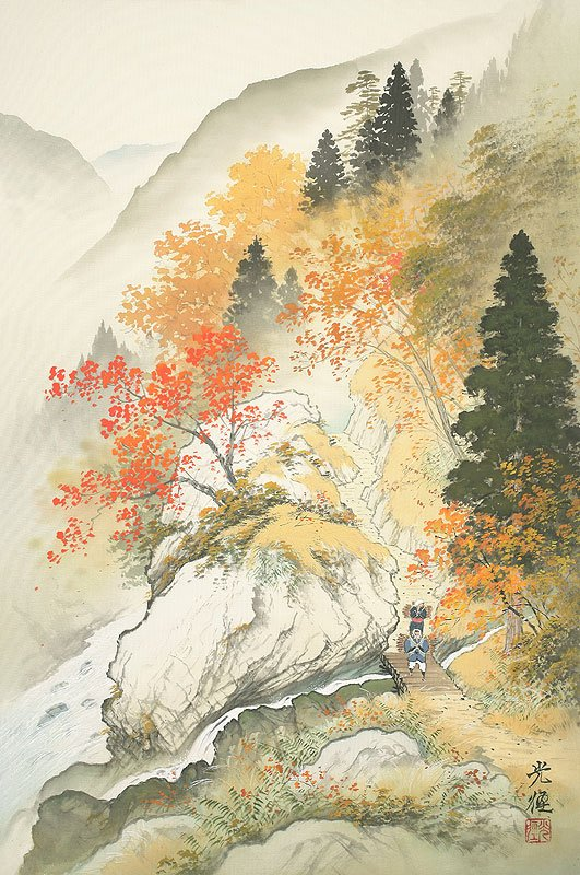 Hoạ sĩ Koukei Kojima - Thôn bản bốn mùa thanh bình DMC_074