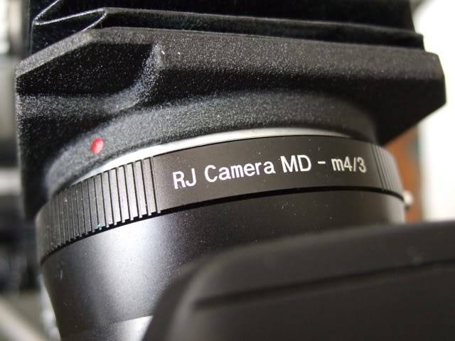 Trying out an old Minolta lens to take photos of my 99.1 ... DSCF3737