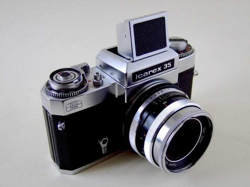 Melhores máquinas fotográficas vintage Icarex003