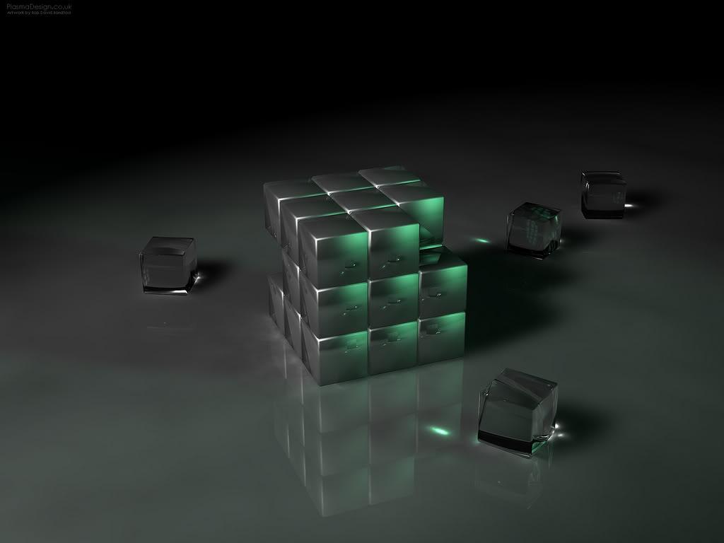 Pha lê RubikEmerald