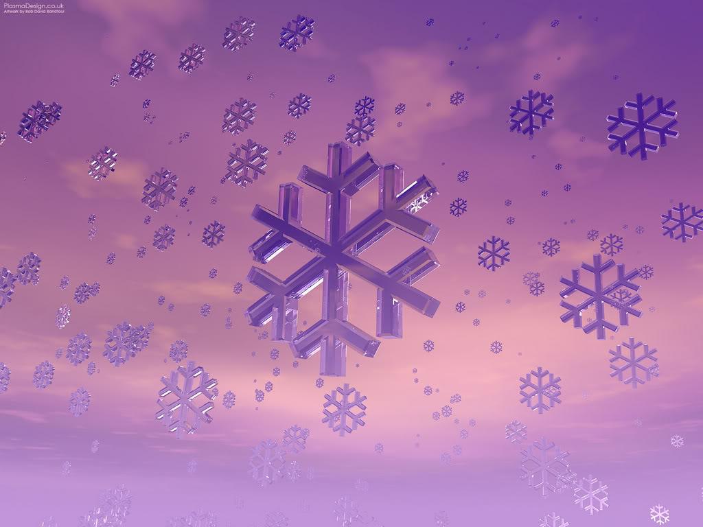 Pha lê SnowflakePurple