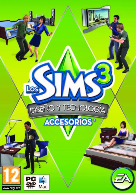 Los Sims 3 Diseño y Tecnologia SIMS3HESgenPFTspa