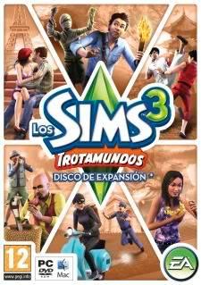 Los Sims 3 Trotamundos SIMS3WEPpcPFTspa