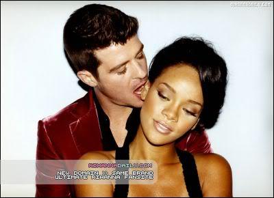 Robin & Rihanna GQ Magazine Outtakes 001