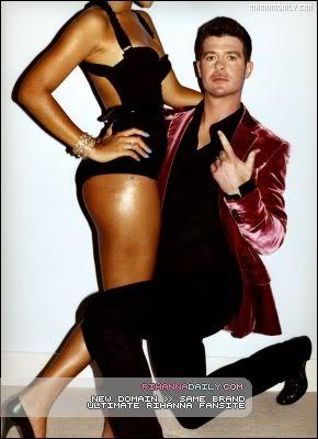 Robin & Rihanna GQ Magazine Outtakes 003