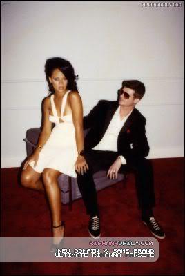 Robin & Rihanna GQ Magazine Outtakes 010