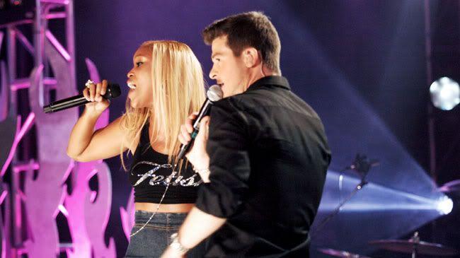 """Robin Thicke et Eve """" Fantasy"""" MTV Live Hard Rock 13"""