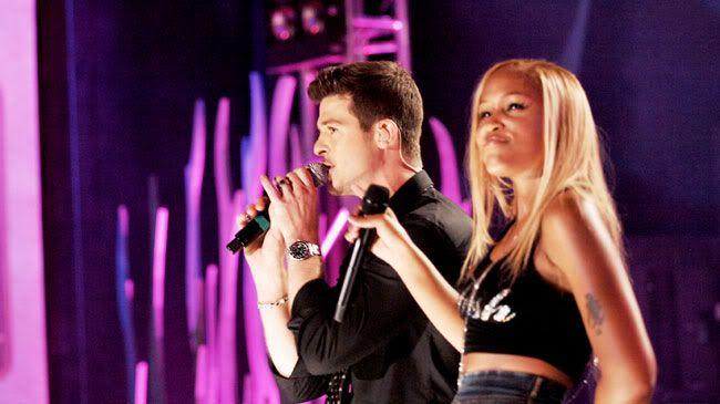 """Robin Thicke et Eve """" Fantasy"""" MTV Live Hard Rock 6"""